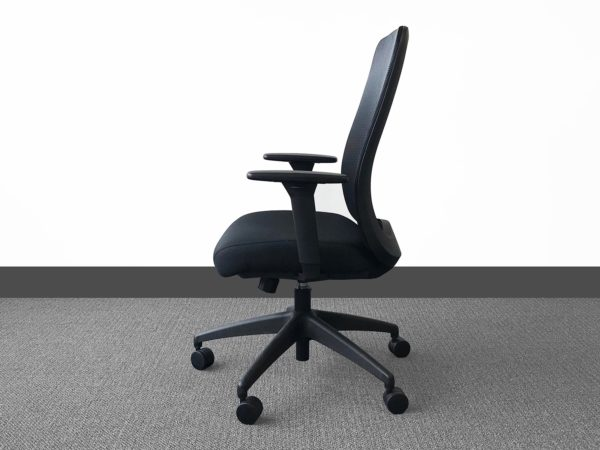 Bolton Chair in Black at Office Liquidation