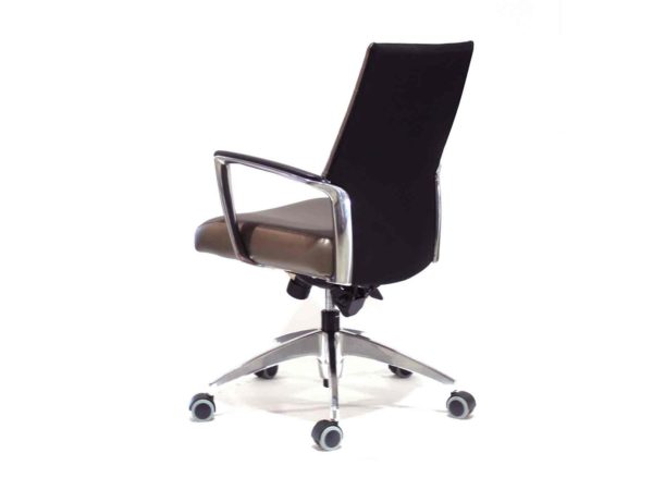 Global Accord Chair in Brown / Gold at Office Furniture Outlet