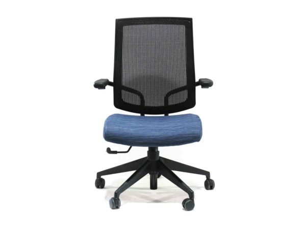 Find used black and blue Sit On It focuss at Office Furniture Outlet