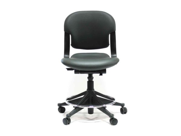 Find used Herman Miller gray (charcoal) equa 2 stools at Office Furniture Outlet