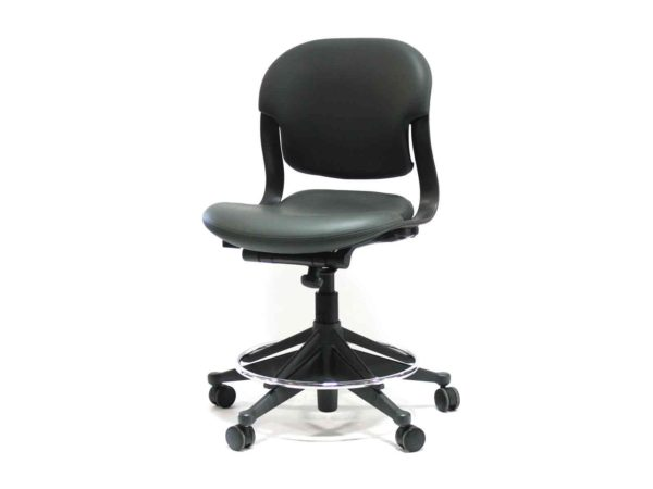 Office Furniture Outlet new Herman Miller Gray (Charcoal) Equa 2 Stool