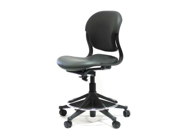 Herman Miller Gray (Charcoal) Equa 2 Stool in Gray at Office Furniture Outlet