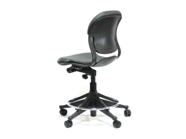 New Gray The Equa 2 stool has a beautiful award-winning design that offers quick response to your movements with the seat and back flexing separately. from Office Furniture Outlet