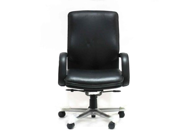 Find used Wayeland black chair with high backs at Office Furniture Outlet