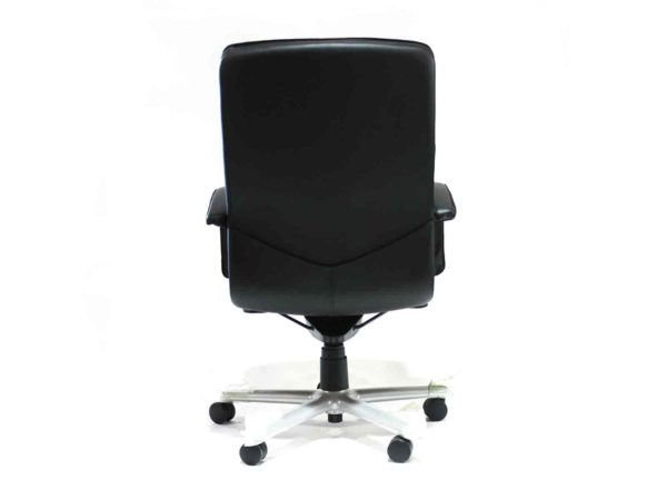 Wayeland Black Chair with High Back in Black at Office Furniture Outlet