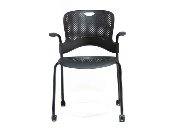 Find used Herman Miller Caper black chairs at Office Furniture Outlet