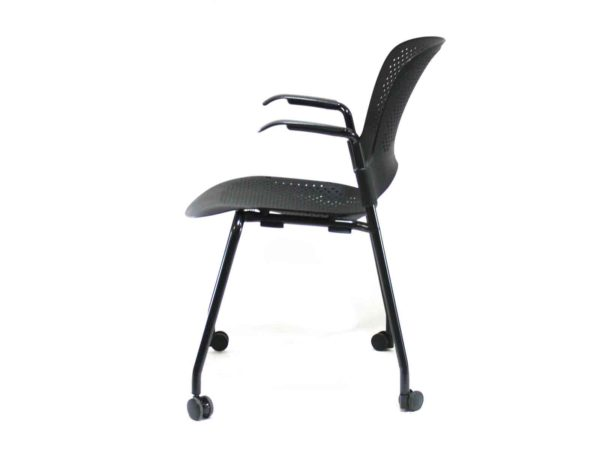 Herman Miller Caper Black Chair in Black at Office Furniture Outlet