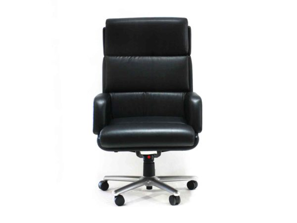 Find used excecutive black chair with high backs at Office Furniture Outlet