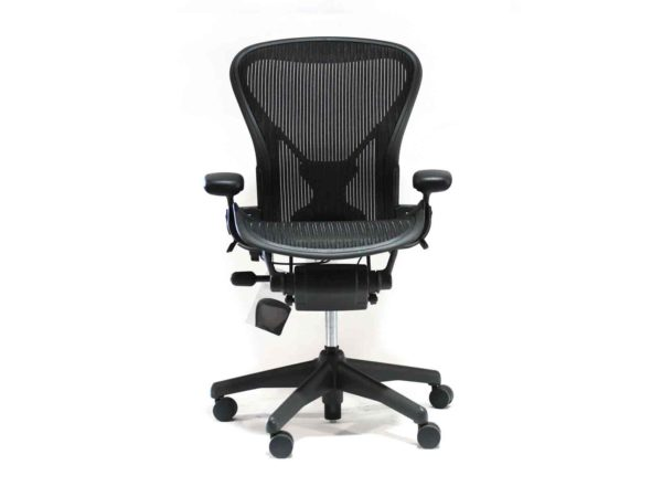 Find used Herman Miller Aeron black chairs at Office Furniture Outlet