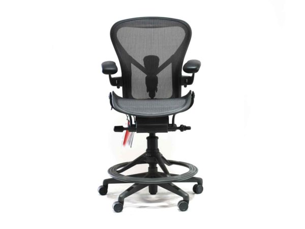 Find used Herman Miller Aeron gray stools at Office Furniture Outlet