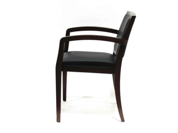 Geiger Ville Stacker Chair in Black at Office Furniture Outlet