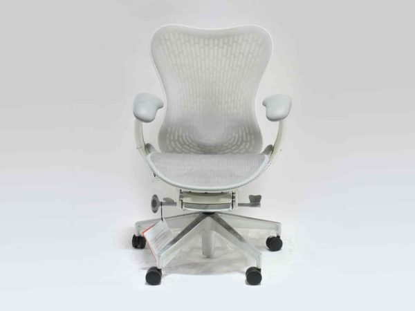 Find used Herman Miller  Mirra 2 bar height stool whites at Office Furniture Outlet