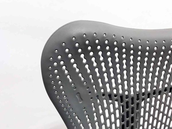 Herman Miller Mirra 2 Bar Height Stool Gray in Gray at Office Furniture Outlet