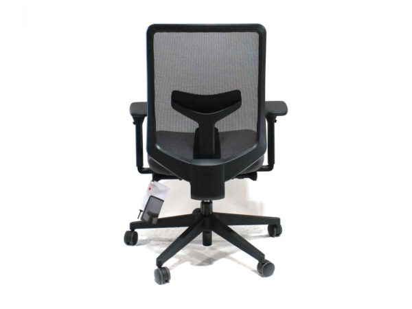 Herman Miller Black/Grey Verus in Gray at Office Furniture Outlet