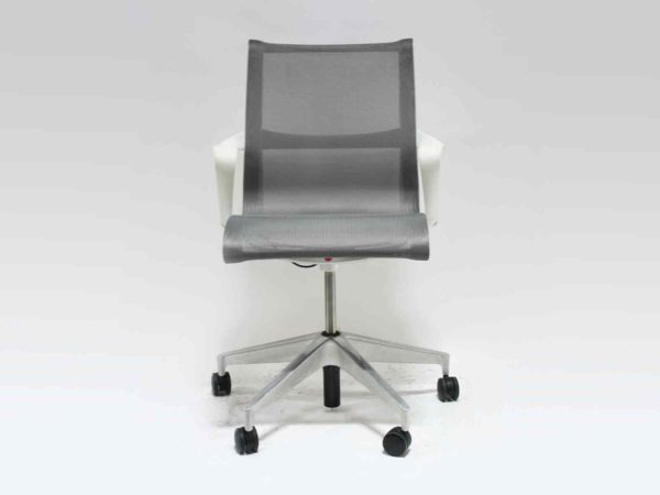 Find used Herman Miller gray/white setu chairs at Office Furniture Outlet