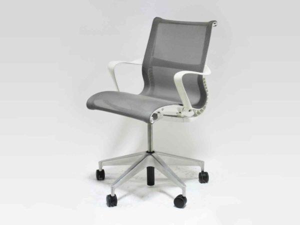 Office Furniture Outlet new Herman Miller Gray/White Setu Chair
