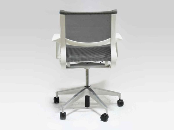 Herman Miller Gray/White Setu Chair in White at Office Furniture Outlet