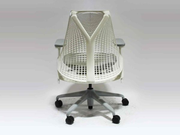 Herman Miller White Sayl Chair in White at Office Furniture Outlet