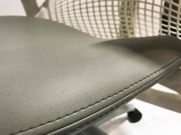 New White This chair model has a healthy balance between support and freedom. from Office Furniture Outlet