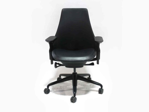 Find used Herman Miller black Sayl chairs at Office Furniture Outlet