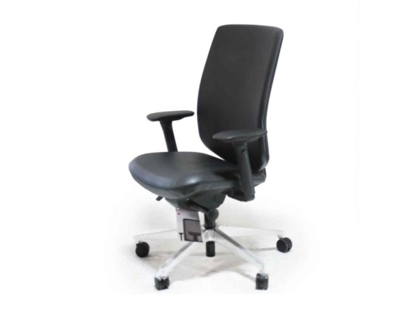 Office Furniture Outlet new Herman Miller Black LEATHER Verus Chair