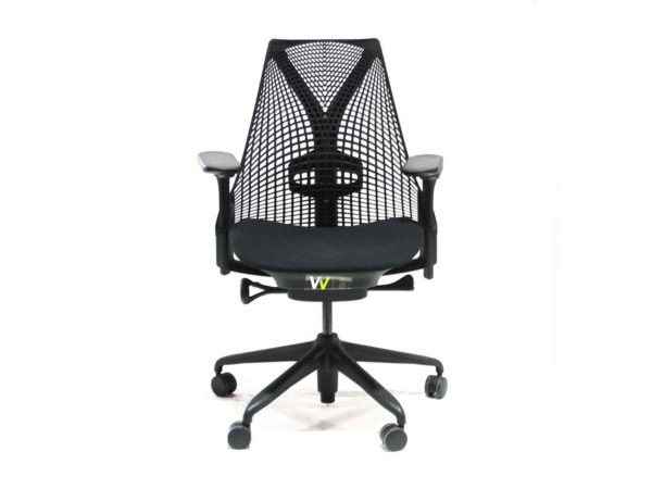 Find used Herman Miller black Sayl task chairs at Office Furniture Outlet