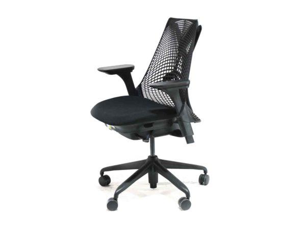 Office Furniture Outlet new Herman Miller Black Sayl task Chair