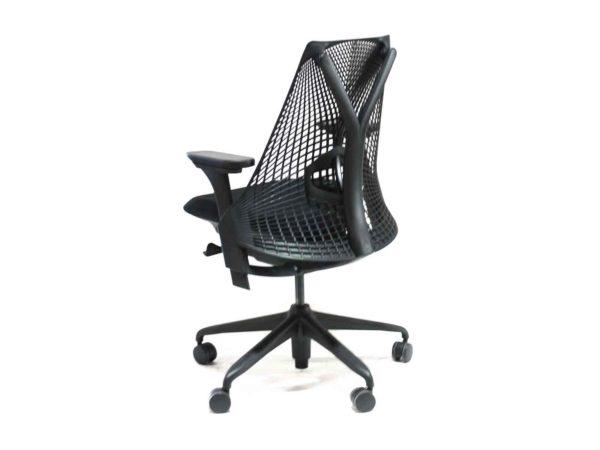 Herman Miller Black Sayl task Chair in Black at Office Furniture Outlet