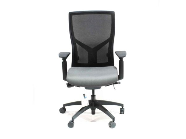 Find used Sit On It Torsa gray chairs at Office Furniture Outlet