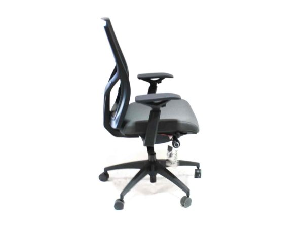 Sit on It Torsa Gray Chair in Gray at Office Furniture Outlet