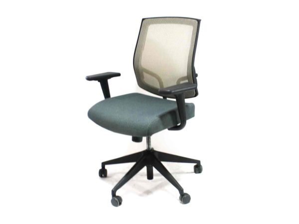 Office Furniture Outlet new Sit on It Focus Green Chair (Sand Mesh Back and Swivel Tilt)