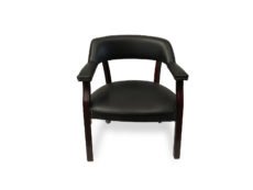 Find used black leather global side/guest chairs at Office Furniture Outlet