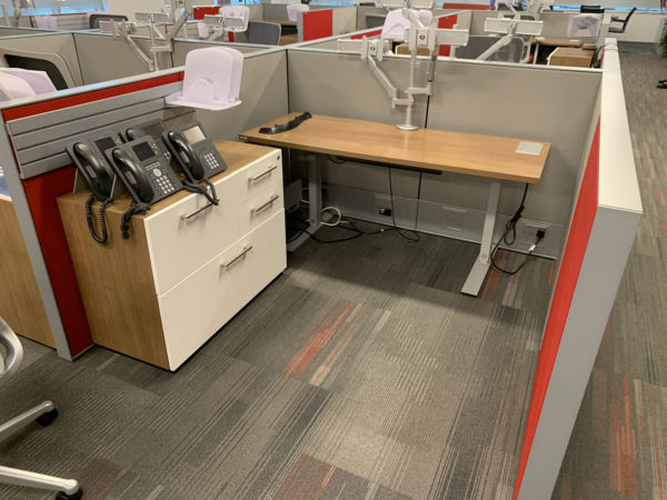 Haworth Compose Storage Right-Hand Combination Unit Special Features: 1.) in  at Office Furniture Outlet