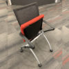 Office Furniture Outlet Used Orange Haworth Seminar X99 Nesting Chair