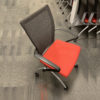 Orange Haworth Seminar X99 Nesting Chair in Orange at Office Furniture Outlet