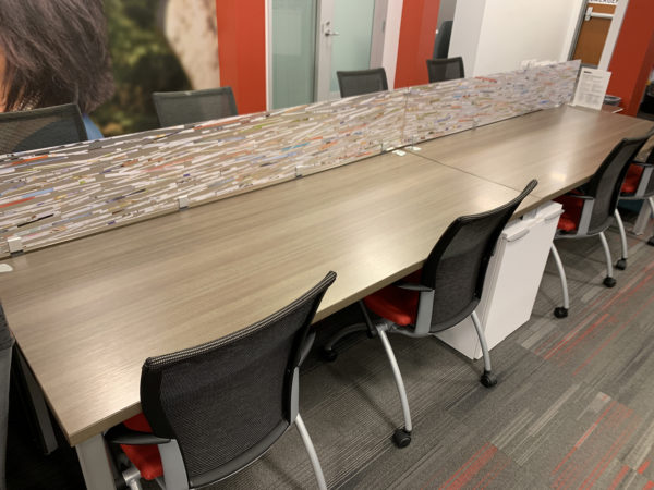 Office Furniture Outlet Used Haworth Traning Table