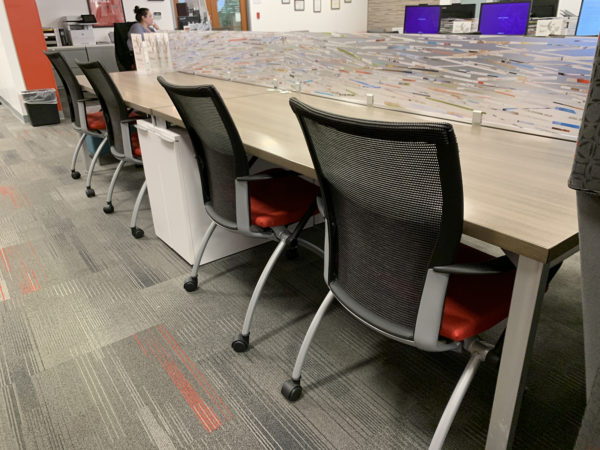 Haworth Traning Table in  at Office Furniture Outlet