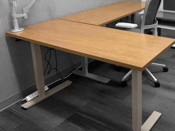 Office Furniture Outlet Used Height Adjustable Desk - ESI Ergonomic Solutions