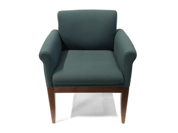 Office Furniture Outlet Preowned Green Side Chair