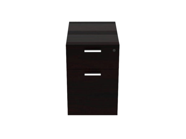 22 Deep Box/File Pedestal in Espresso at Office Furniture Outlet