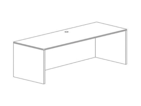 Office Furniture Outlet New 24x71 Credenza Shell