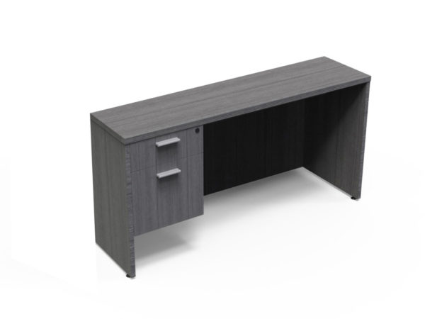 Find used KUL 24x71 credenza w/ 1bf ped (gry)s at Office Furniture Outlet