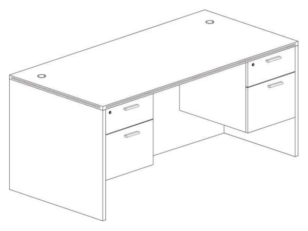 Office Furniture Outlet New 30x66 Desk