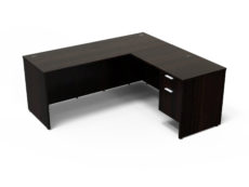 Find used KUL 60x72l desk w/ 1bf ped (esp)s at Office Furniture Outlet