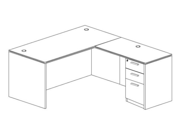 Office Furniture Outlet New 60x72L Desk