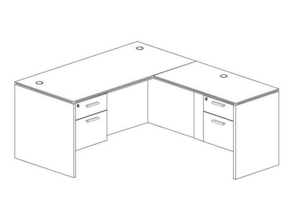 Office Furniture Outlet New 66x72L Desk