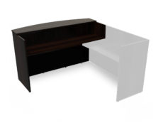 Find used KUL 3036x71 recepetion desk shell (esp)s at Office Furniture Outlet