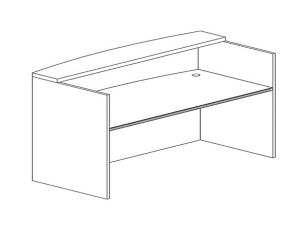 Office Furniture Outlet New 3036x71 Recepetion Desk Shell