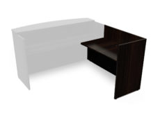 Find used KUL 24x42 reception return shell (rl) (esp)s at Office Furniture Outlet