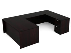 Find used KUL 71x108 u-shape desk w/ 1bbf and 1ff ped (esp)s at Office Furniture Outlet